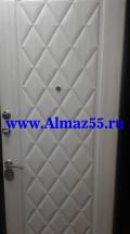 Входная дверь Алмаз Циркон Светлый дуб
