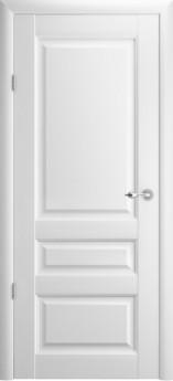 Дверь межкомнатная Эрмитаж 2 ДГ Белый винил