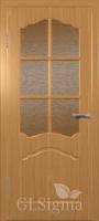 Дверь межкомнатная Сигма 32 ДО Миланский орех