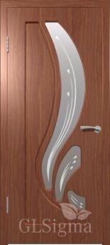 Дверь межкомнатная Сигма 82 ДО Итальянский орех