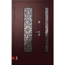Входная дверь FORTEZZA-PREMIUM | Норд 2/2 S | Встроенная система обогрева двери