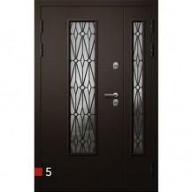 Входная дверь Фортеза Хаски 4/2 S | Встроенная система обогрева двери
