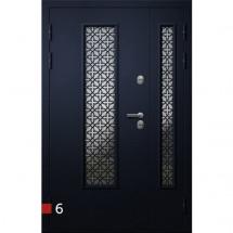 Входная дверь Фортеза Хаски 2/2 S   Встроенная система обогрева двери