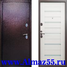 Входная дверь Квадра Венге