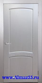 Дверь межкомнатная Румба ДГ Белый жемчуг