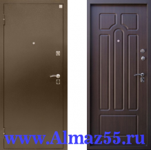 Входная дверь Алмаз Опал 11 Венге