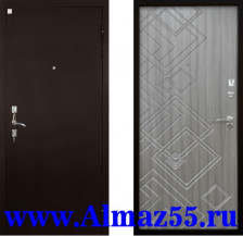 Входная дверь Алмаз Турмалин Палисандр