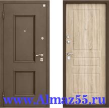 Входная дверь Алмаз 1 Руст 2