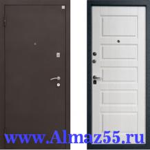 Входная дверь Алмаз-11 Капучино