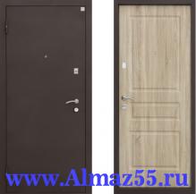 Входная дверь Алмаз-11 Карпатская ель