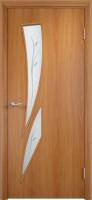 Дверь межкомнатная С-2 (Фьюзинг) Миланский орех