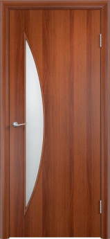 Дверь межкомнатная С-6 Итальянский орех
