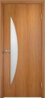 Дверь межкомнатная С-6 (Остеклённая) Миланский орех