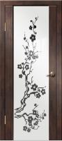 Дверь межкомнатная Диана Сакура Венге